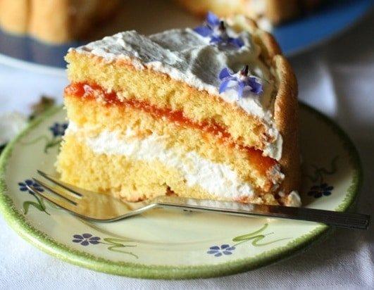 Torta primavera con marmellata