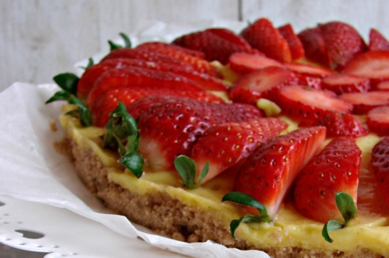 Torta fredda alla frutta