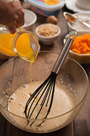 Le carote  grattugiate, il pizzico di sale