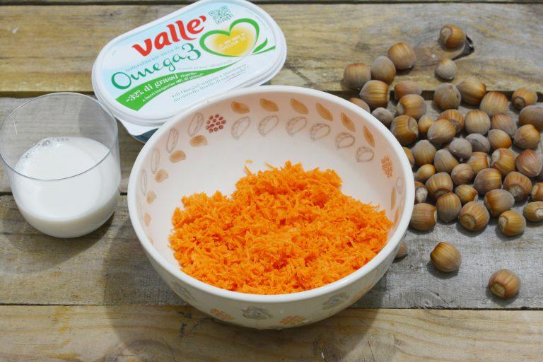 grattugiate le carote