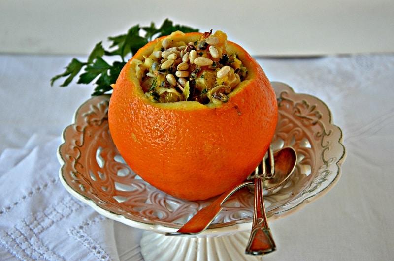 Frutti di mare all'arancia
