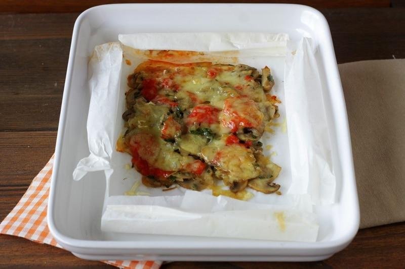 Cartoccio di champignons al forno