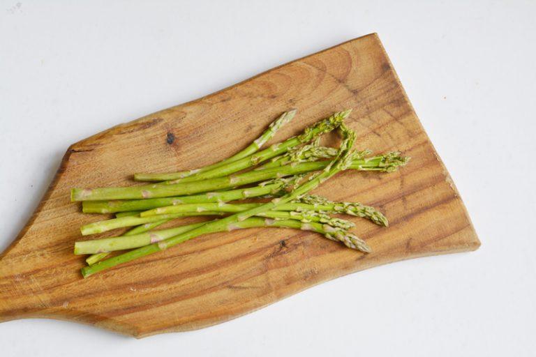 lavare accuratamente gli asparagi