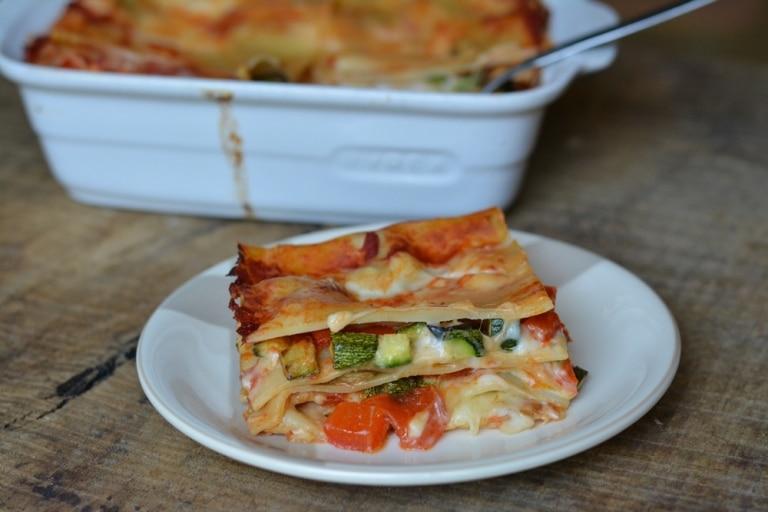 Cestino di lasagnetta con verdure