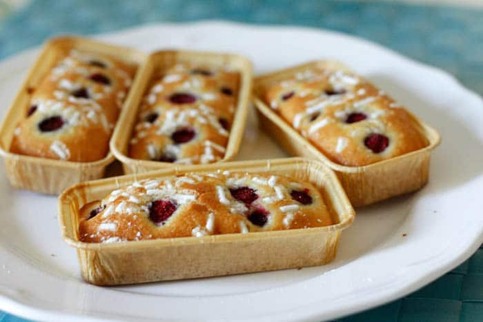 Mini plumcake alle fragoline