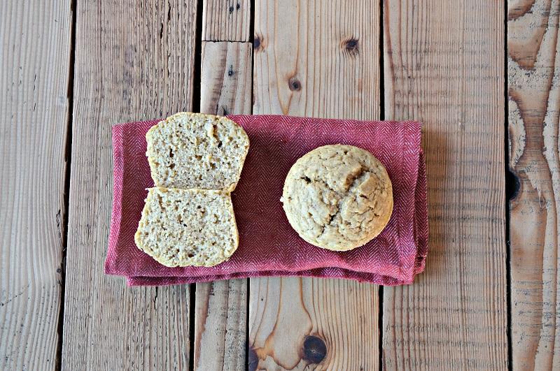 Muffin integrali zenzero e cannella