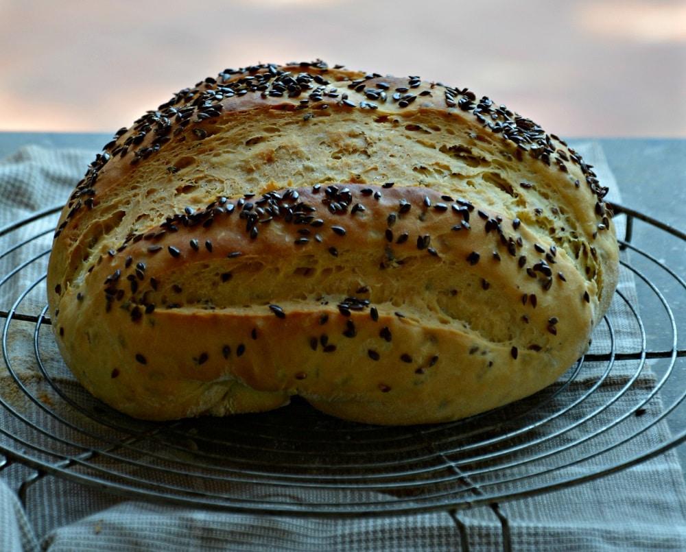 Pane ai semi di lino