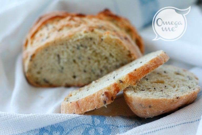 Pane di farro e semi di lino