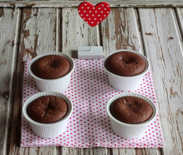 Ramequin al cioccolato fondente con peperoncino