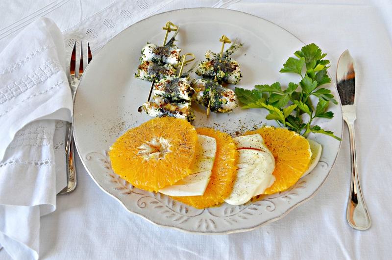 Spiedini di sarde con panatura aromatica