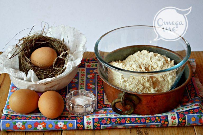 Ingredienti per la pasta
