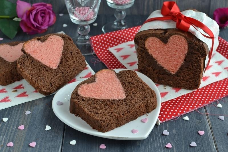 Plumcake dal cuore segreto
