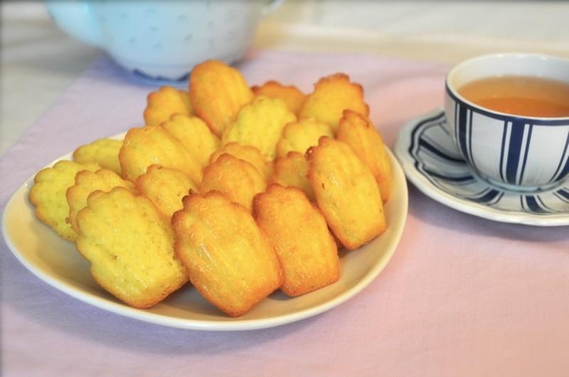 Madeleines alla vaniglia