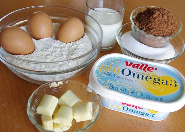 Ingredienti per 15 muffins