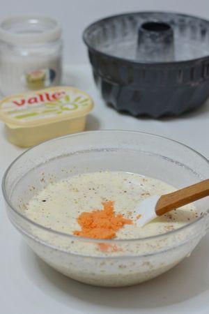 aggiungere le carote frullate con il latte