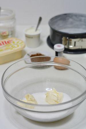 in una ciotola, aggiunger allo zucchero, Vallé