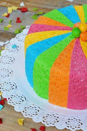 completate con palline colorate al centro