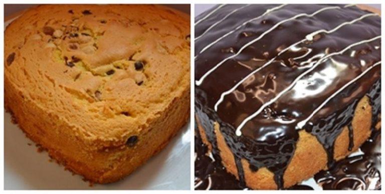Una volta raffreddata ,preparare la copertura sciogliendo il cioccolato con la panna liquida e versarlo sul dolce