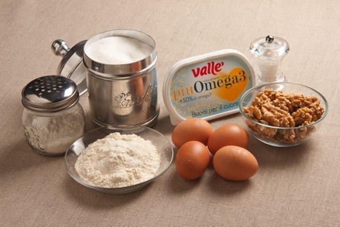 Torta di noci: gli ingredienti