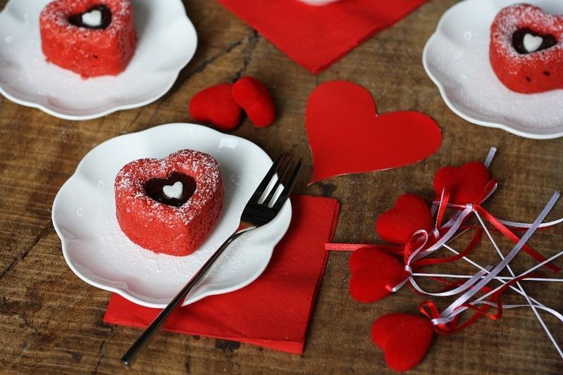 Cuori Red Velvet per San Valentino