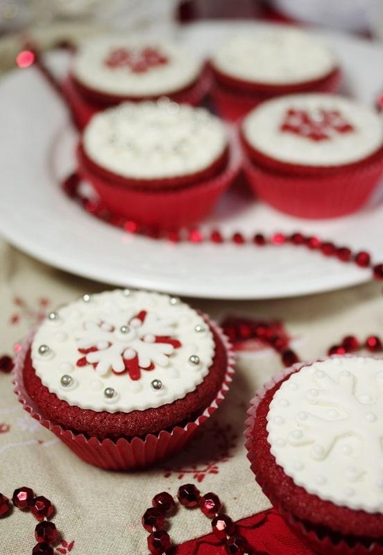 Red Cupcakes di Natale