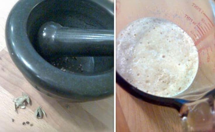 Versate il lievito col latte in una ciotola capiente, aggiungete 70 gr di zucchero, 4 cucchiai di farina, l'uovo e sbattete bene  a ogni aggiunta; coprite e aspettare ancora 15 minuti e, intanto, fate sciogliere 70 gr di margarina. Trascorso questo tempo, aggiungete la rimanente farina, il cardamomo e la magarina sciolta