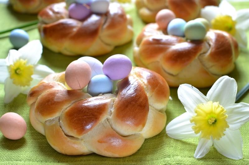 Nidi soffici di Pasqua