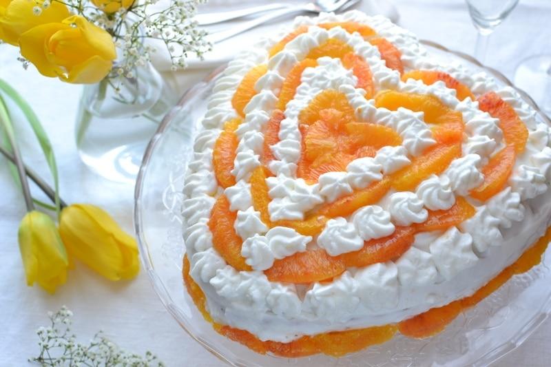 Cuore soffice all'arancia