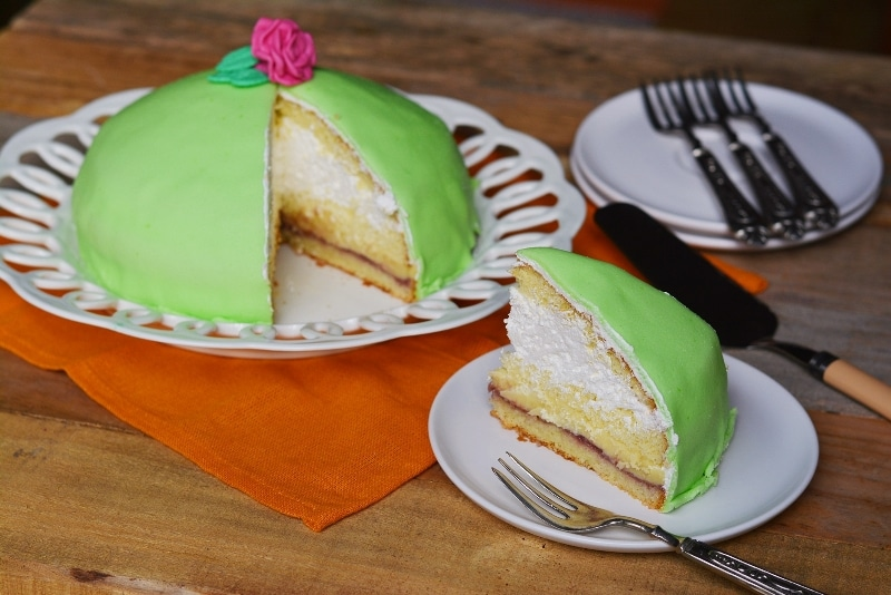 Torta soffice svedese