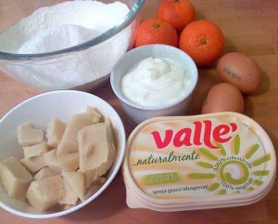 Gli ingredienti. Accendete il forno a 180 gradi