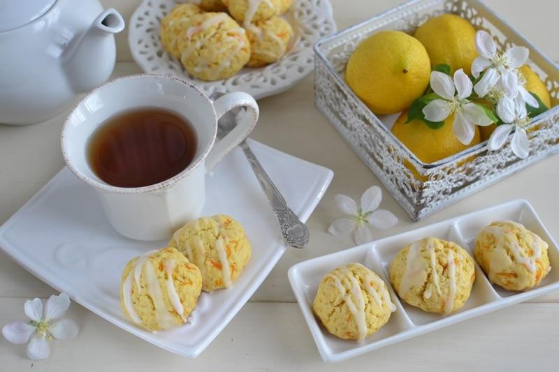 Biscotti carota e limone