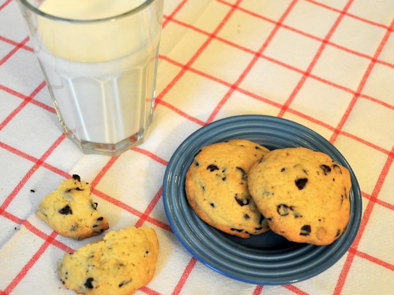 """American style cookies """"Biscotti al cioccolato"""""""