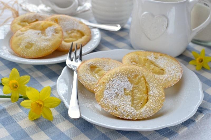 Pancakes di mela al forno