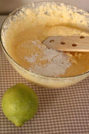 Aggiungere lentamente la farina setacciata, la fecola, la vanillina, il lievito e la scorza di limone grattugiata, mescolando lentamente con un cucchiaio di legno dall'alto verso il basso e non con lo sbattitore