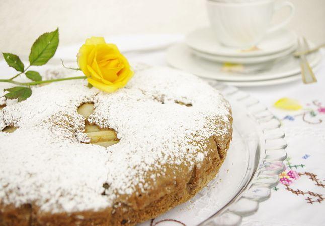 Infornate a 175° per 30-35 minuti. Cospargete a piacere di zucchero a velo una volta fredda.Buon appetito da Morena e da Vallé ♥