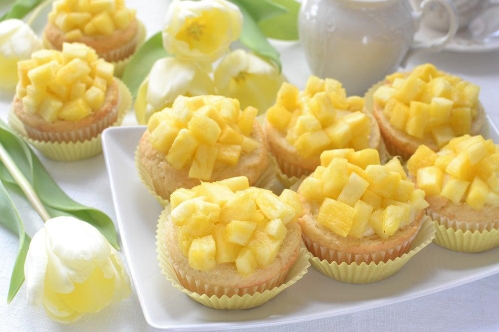 Mimose all'ananas