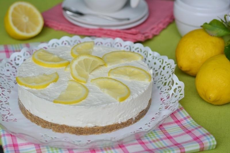 Cheesecake al limone e zenzero