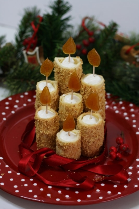 Candele dolci di Natale