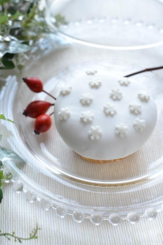 Cupcakes fiocco di neve – Natale