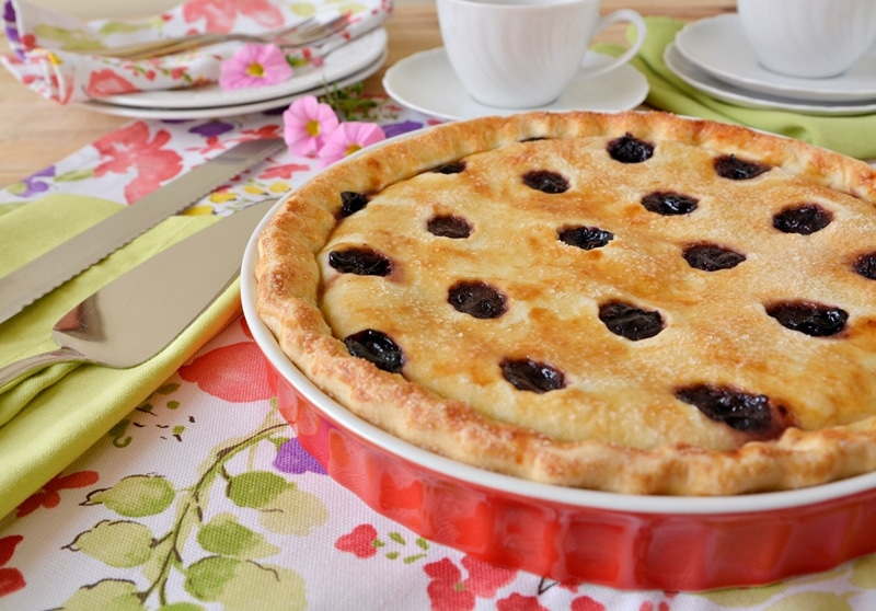Grape Pie, crostata all'uva fragola
