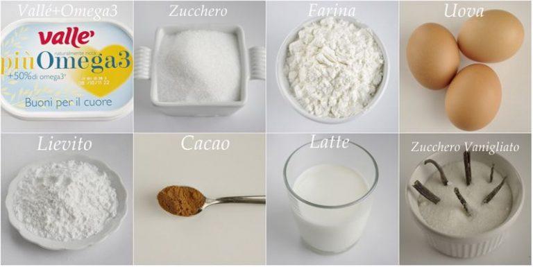Ingredienti. Setacciare in una ciotola la farina con il lievito, il cacao ed il colorante (se non ce l'avete in polvere ma liquido aggiungerlo all'impasto finito)