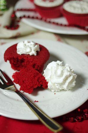 Red Cupcakes di Natale, ricetta cupcake - Vallé Italia