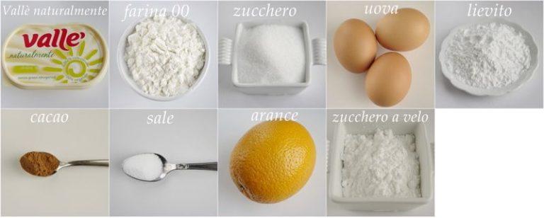 Ingredienti. Setacciare in una ciotola la farina, il lievito ed il sale