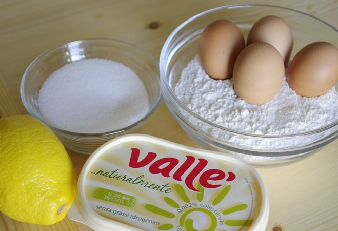 Torta soffice al limone: gli ingredienti