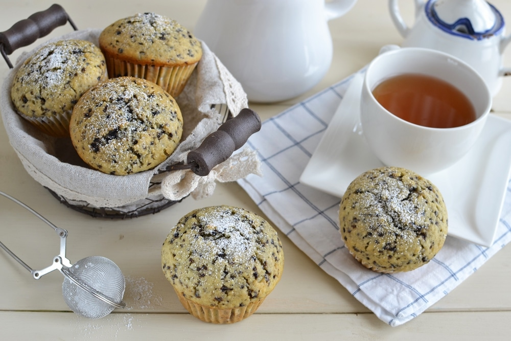 Muffin doppio mirtillo