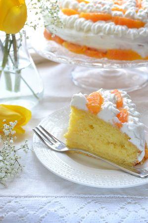 Disponete gli spicchi rimasti intorno alla torta, mettete in frigo per un'ora circa e serviteBuon San Valentino da KURI e da Vallé ♥