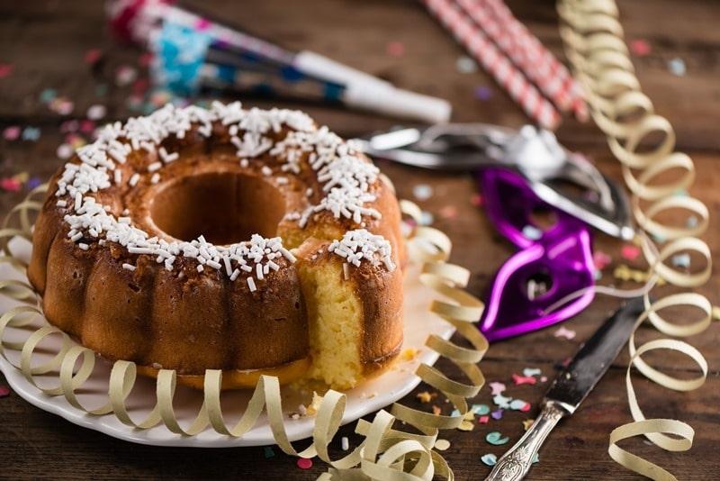 Ciambella di carnevale gluten free