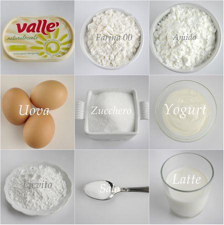 Ingredienti. Setacciare le farine con il sale ed il lievito