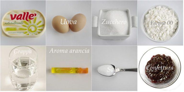 Ingredienti. Mettere in una ciotola la farina e tutti gli altri ingredienti