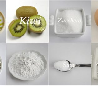 Torta ai kiwi: gli ingredienti